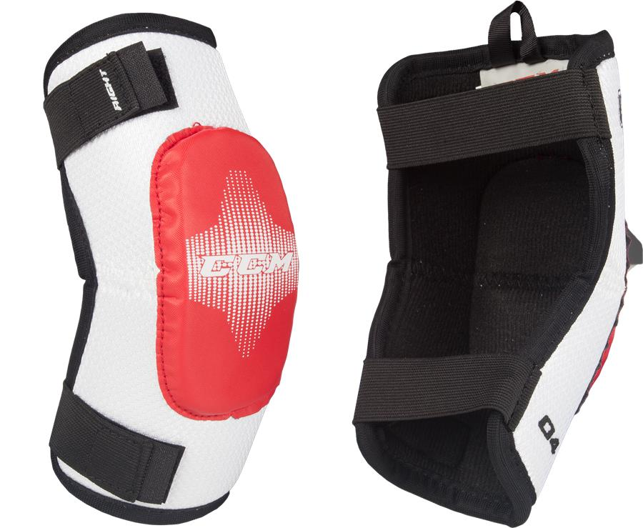 Learn to Play Hockey CCM U + 04 Youth Elbow Pads