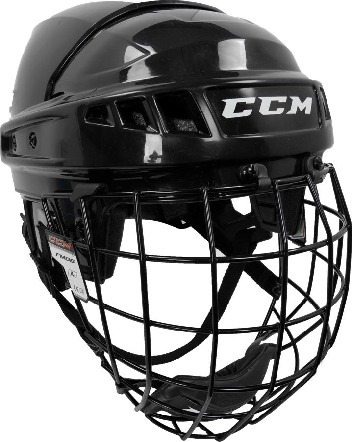 Learn to Play Hockey CCM U+ 04 Helmet Combo