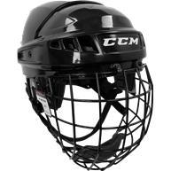 Learn to Play Hockey CCM U+ 04 Helmet Combo