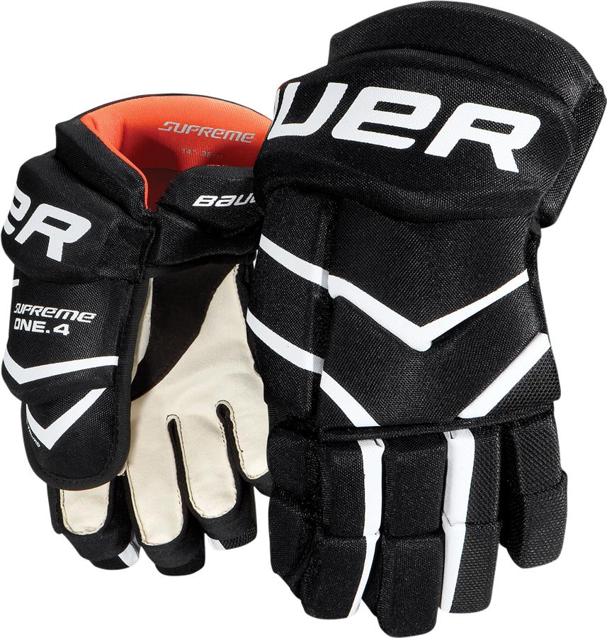 Learn to Play Hockey Bauer Supreme One.4 Hockey Gloves