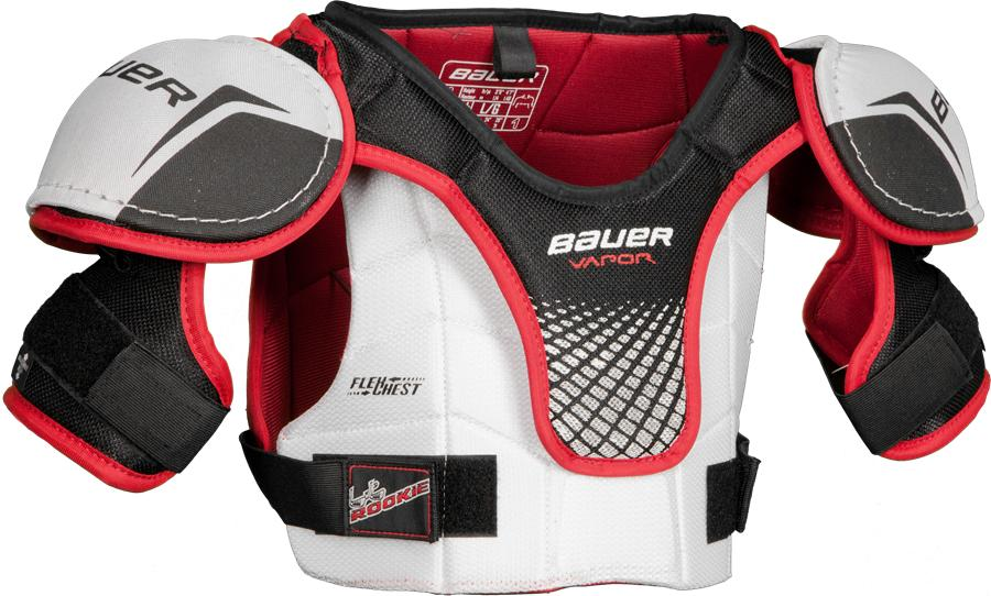 Learn to Play Hockey Bauer Lil Rookie Youth Shoulder Pads