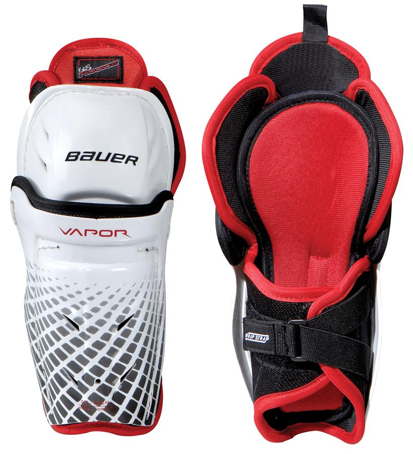 Learn to Play Hockey Bauer Lil Rookie Youth Shin Guards