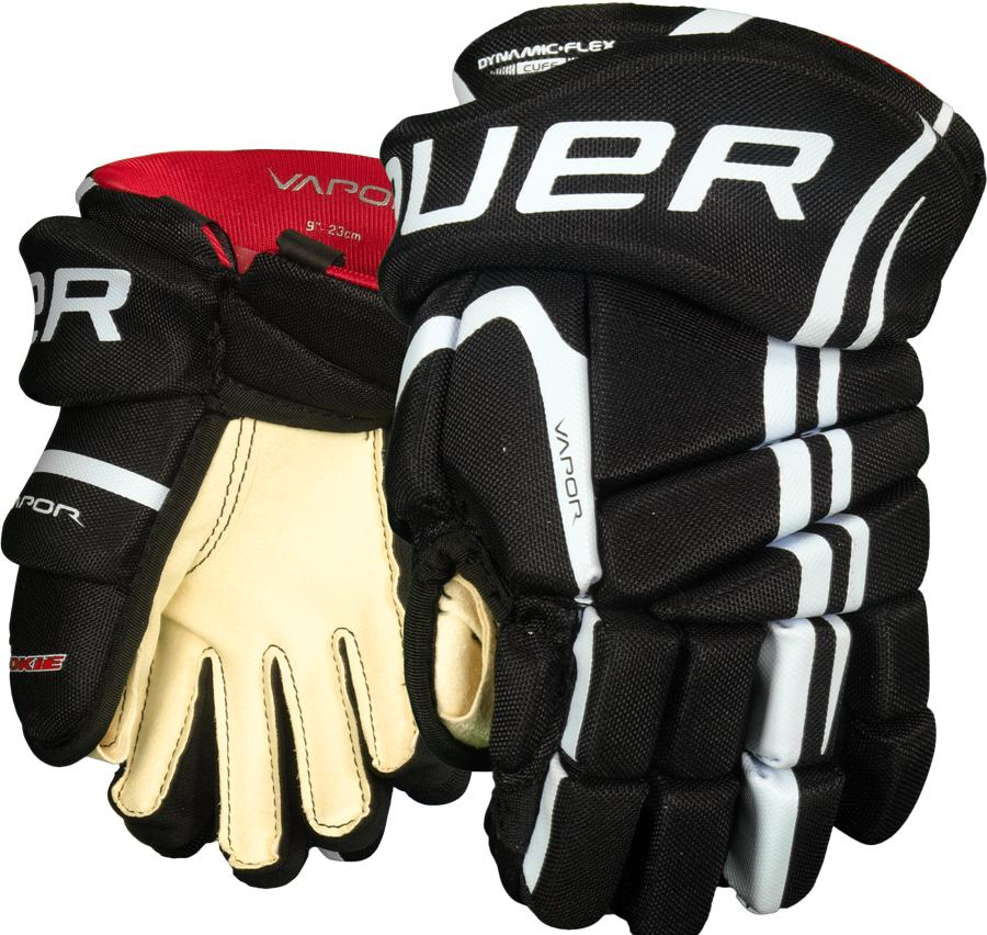 Learn to Play Hockey Bauer Lil Rookie Youth Hockey Gloves