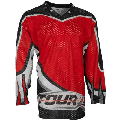 Tour Moto Tec Away Red Jersey