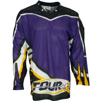 Tour Moto Tec Away Purple Jersey
