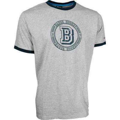 Bauer Varsity Ringer Short Sleeve Tee Shirt