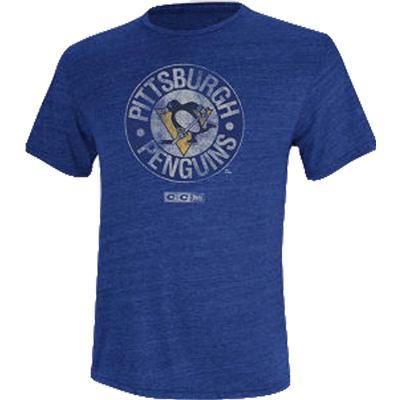 Reebok Pittsburgh Penguins Retro Logo Tee Shirt