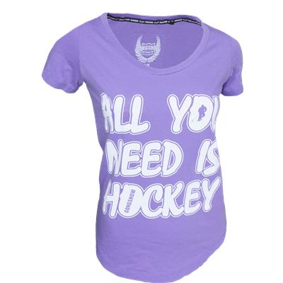 Gongshow All You Need Is Hockey Tee Shirt