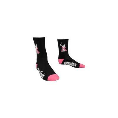 Adrenaline Breast Cancer Awareness Socks