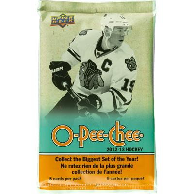 O-Pee-Chee 2012-13 NHL Trading Cards