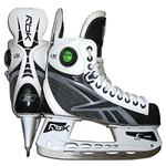 Reebok 9K White Pump Ice Skates '09 Model [JUNIOR]