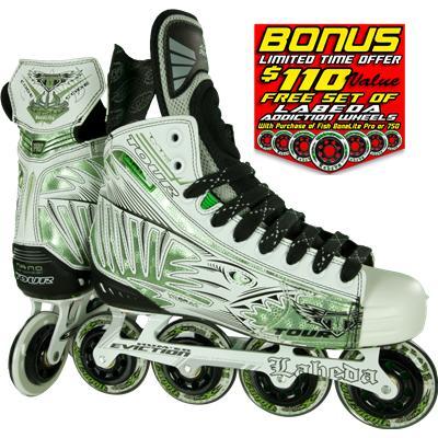 Tour White Fish Bonelite Pro Inline Skates