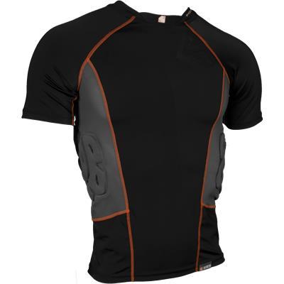 Shock Doctor Ultra ShockSkin 3-Pad Impact Shirt [Black]