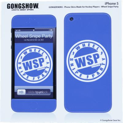 Gongshow WSP iPhone 5 Skin