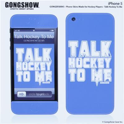 Gongshow Talk Hockey iPhone 5 Skin