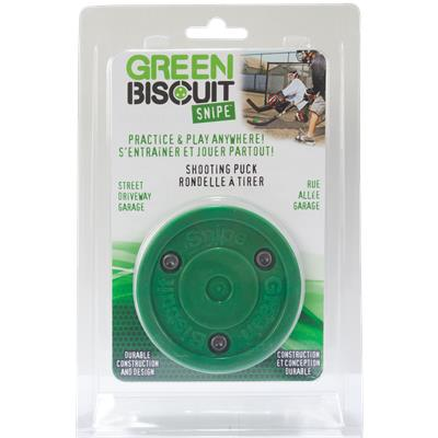 Green Biscuit Packaged Snipe Puck