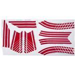Bauer Goalie Mask Stickers - Stripes