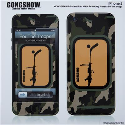 Gongshow For The Troops iPhone 5 Skin