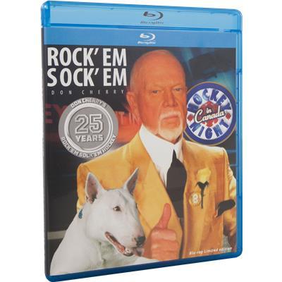 Don Cherry Rock'Em Sock'Em 25 Years Blu-Ray DVD