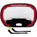 Warrior Pop-Up Mini Hockey Net w/ Sticks & Ball
