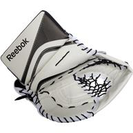 Learn to Play Goalie Reebok X20 Youth Goalie Catch Gloves
