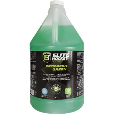 Elite Hockey 4 Liter Profresh Green Bottle