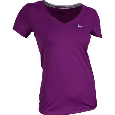 Nike Pro V-Neck Tee Shirt