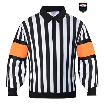 Force Pro Referee Jersey w/ Orange Armbands