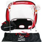 Warrior Mini Lacrosse Target Pop-Up Set w/ Travel Bag