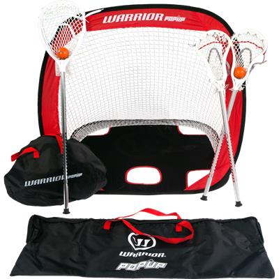 Warrior Mini Lacrosse Target Pop-Up Set w/ Travel Bag