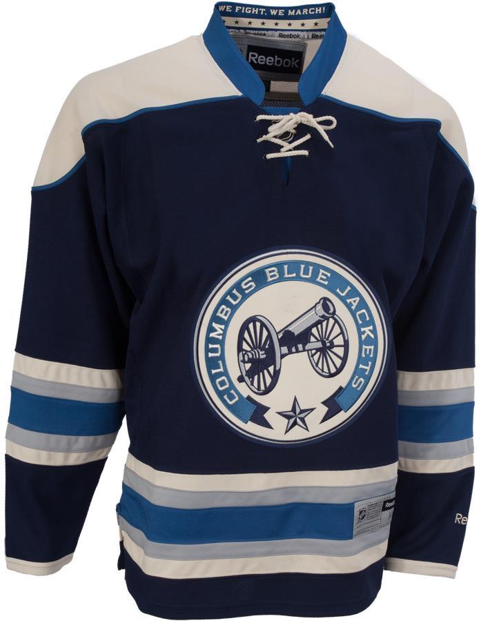 Reebok Columbus Blue Jackets Premier Jersey - Third [Mens] | Pure Hockey Equipment