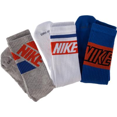 Nike Dri-Fit Fly Rise Crew Socks - 3 Pack