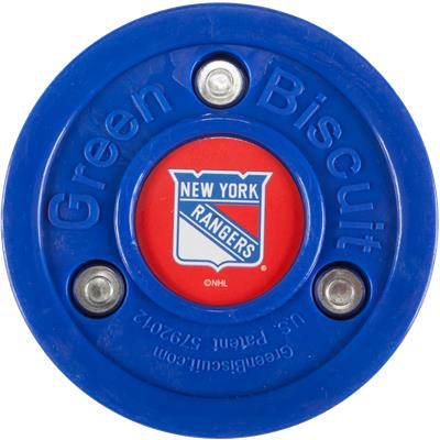 Green Biscuit NHL Team Logo Puck