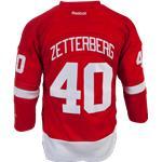 Reebok Henrik Zetterberg Detroit Red Wings Premier Jersey - Home/Dark - Youth
