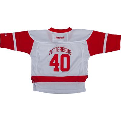 Reebok Henrik Zetterberg Detroit Red Wings Replica Away Jersey