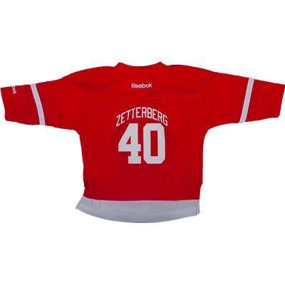 Reebok Henrik Zetterberg Detroit Red Wings Replica Home Jersey