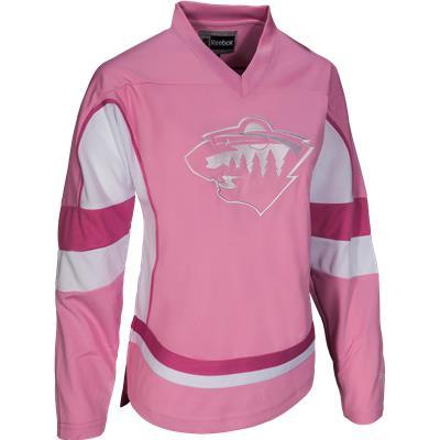 Reebok Minnesota Wild Pink Fashion Jersey