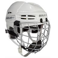 Learn to Play Hockey Bauer Re-Akt 100 Helmet Combo