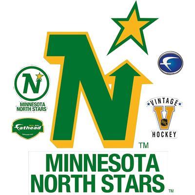 North Stars Vintage Fathead