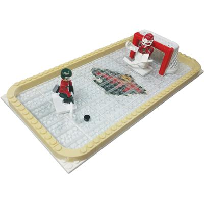 OYO Sports NHL Team Buildable Backyard Rink