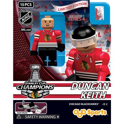 OYO Sports 2015 Stanley Cup Champions Chicago Blackhawks Limited Edition Mini Figures