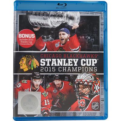 Chicago Blackhawks 2015 Stanley Cup Champions Blu-Ray