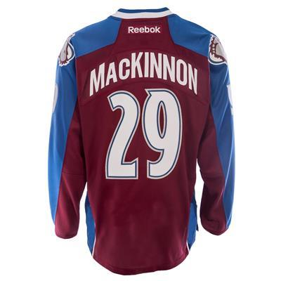 Reebok Nathan Mackinnon Colorado Avalanche Premier Jersey - Home/Dark
