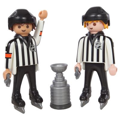 Playmobil NHL Referees w/ Stanley Cup