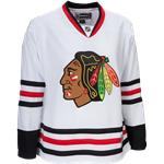 Reebok Chicago Blackhawks Premier Jersey - Away/White [WOMENS]