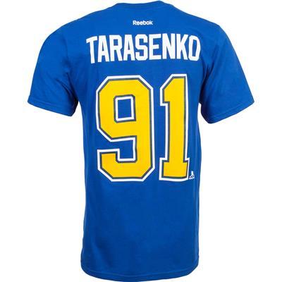 Reebok St. Louis Blues Vladimir Tarasenko Tee Shirt - Home