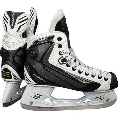 CCM RIBCOR 44K White Ice Skates