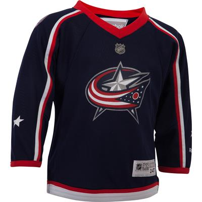 Reebok Columbus Blue Jackets Replica Home Jersey