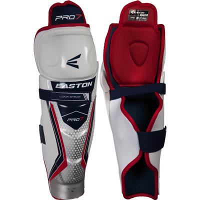 Easton Pro 7 Hockey Shin Guards