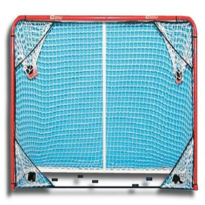 EZ Goal Folding Metal Hockey Goal w/Shooting Targets